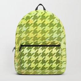Dogtooth & Houndtooth Lime B.I.G. Backpack