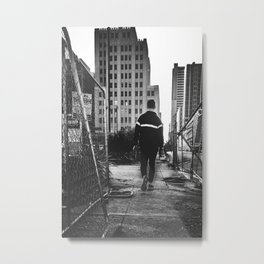 City Path Metal Print