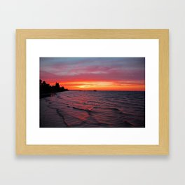 Dreams as Vast as the View Framed Art Print