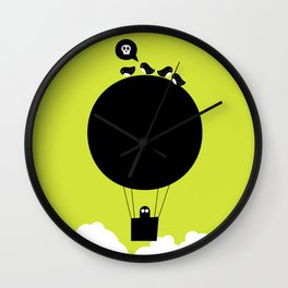 Hot Air Wall Clock
