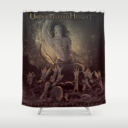 Rise of the Voiceless  Shower Curtain
