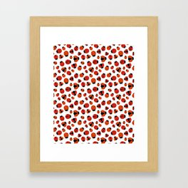 Ladybugs Framed Art Print