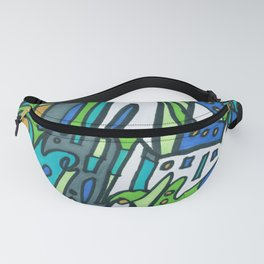 Feel This Real Forever (green) Fanny Pack