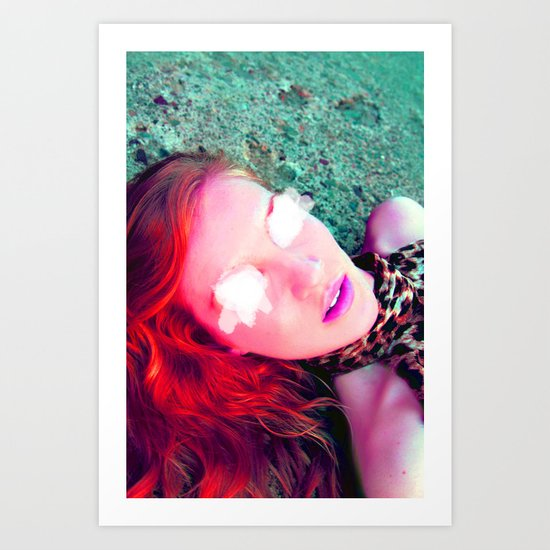 Another Red Head  Art Print