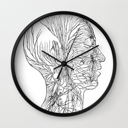 Anatomy of the Human Body Wall Clock
