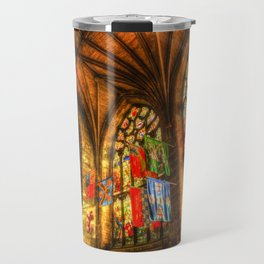 Evening Sun Cathedral Travel Mug