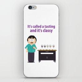 Randy Marsh Tasting Wine Meme iPhone Skin