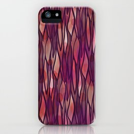 Rouge Willow iPhone Case