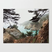 big sur Canvas Prints featuring Big Sur by Kyle Meck