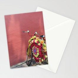Malacca Festive Trishaw  Stationery Cards