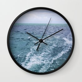 All the Colors of the Sea Wall Clock