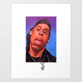 Jay-Z 2K Art Print