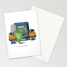 Collared Greens Stationery Cards