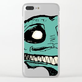 HAPPY DRAGON BEASTIE Clear iPhone Case