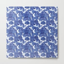 CHINA BLUE Metal Print