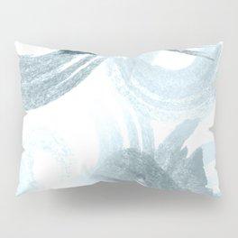 Curling Blue Pillow Sham