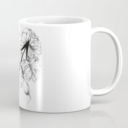 Sagittarius///Carnation & Crocus Coffee Mug