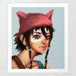 -Kai- Art Print