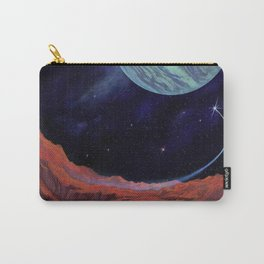 Blues of outer space Carry-All Pouch
