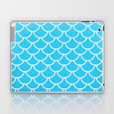Let´s be mermaids- Aqua Teal Mermaidscales - into the Sea- on #Society6 Laptop & iPad Skin