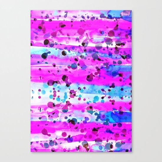 Neon Burn Canvas Print