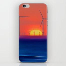 Windmills to the Sun iPhone Skin