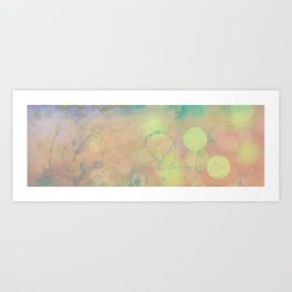Growing with the Wake Art Print