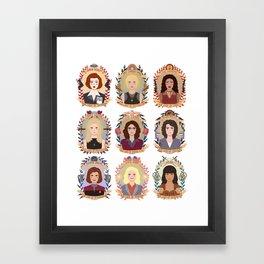 SFC Collection Framed Art Print