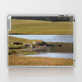 Wildlife At The Golf Course Laptop & iPad Skin