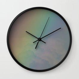 Between the Rainbow Wall Clock