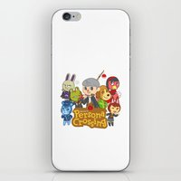 persona iPhone & iPod Skins featuring Persona Crossing by Cassie S