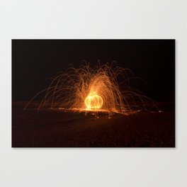Light and magic Canvas Print