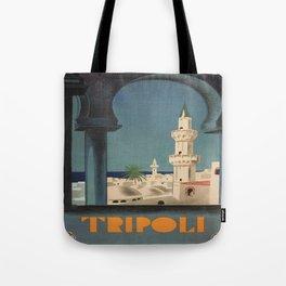 Vintage poster - Tripoli Tote Bag