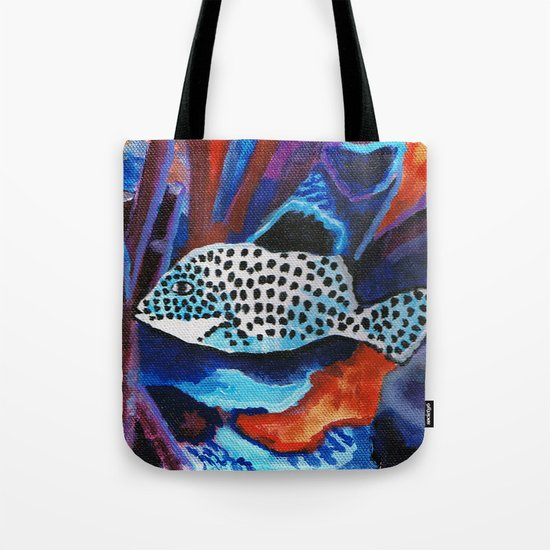 Tropical spotted fish by wbdesigns