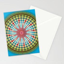 Health Mandala - מנדלה בריאות Stationery Cards