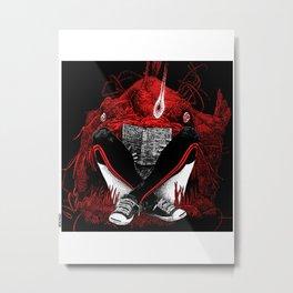 asc 500 - La paix des profondeurs (The quiet place) Metal Print