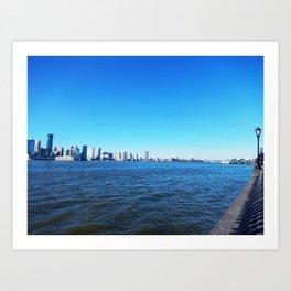Hudson River, NY Art Print