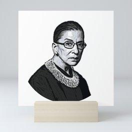 The Honorable Ruth Bader Ginsburg Mini Art Print