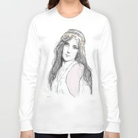 boho Long Sleeve T-shirts featuring Boho by Lyndsey Ferguson