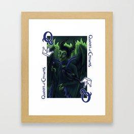 Queen of Crowns Framed Art Print