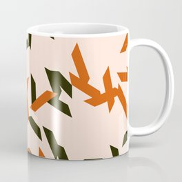 random trapezoids pattern_salmon Coffee Mug