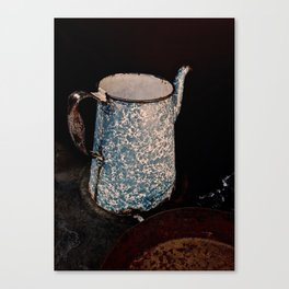 Coffee Pot, Haunted Stove- Hell's gate, B.C. Canvas Print