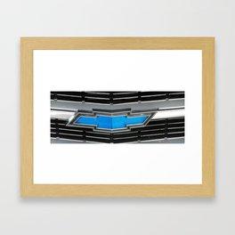 Classic Bow Tie/ Classic Car Framed Art Print