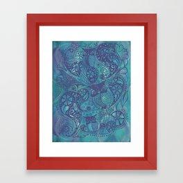 Nite Owl Framed Art Print