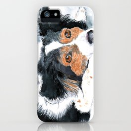 Border Collie Mattie iPhone Case