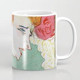 Henri de Toulouse-Lautrec - Bust of Miss. Marcelle Lender - Digital Remastered Edition Coffee Mug