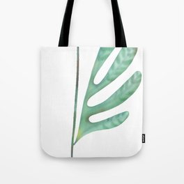 Floral lives green Tote Bag