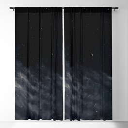 Melancholy Blackout Curtain