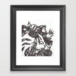 Rosas y espinas Framed Art Print