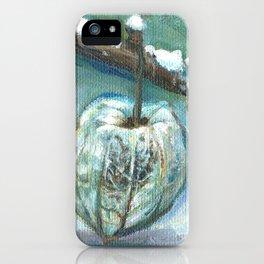 winter ground cherry iPhone Case